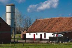 牧人的farmscape 库存图片