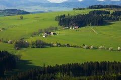 牧人风景 免版税库存照片