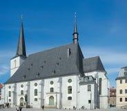 牧民教会,威玛,德国 免版税库存照片