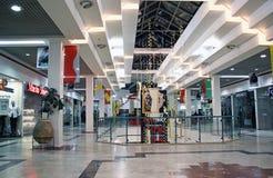 购物中心在市啤酒舍瓦 免版税库存照片