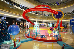 购物中心在深圳 免版税库存照片