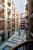 购物中心尼古拉斯段落的内部 免版税库存照片