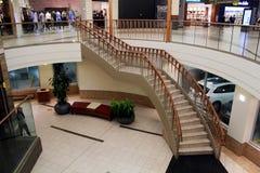 购物中心楼梯  免版税库存照片