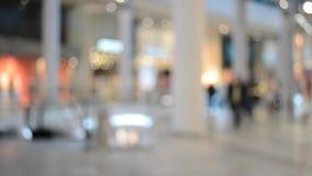 购物中心的人们 股票录像