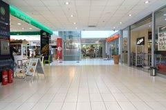 购物中心的内部 库存照片