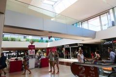 购物中心-巴塞罗那,西班牙 免版税库存图片