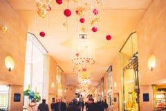 巴黎购物中心Le Carrousel du天窗 库存图片
