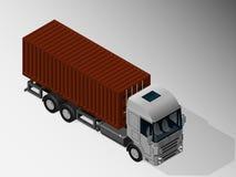 货物交付的设备 库存例证