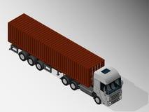 货物交付的设备 向量例证