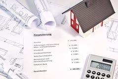 物产的财务 图库摄影