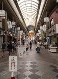购物在京都 库存图片