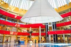 购物在第比利斯购物中心 库存图片
