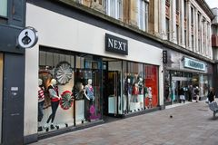 购物在英国 免版税库存图片