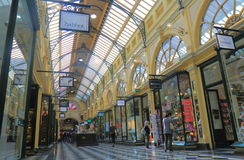 购物拱廊墨尔本澳大利亚 免版税库存图片