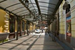 购物拱廊 免版税库存图片