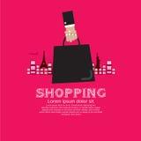 购物旅游业。 图库摄影