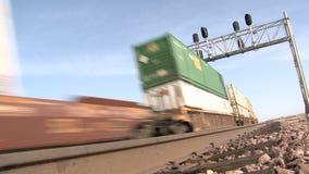 货物火车 股票视频