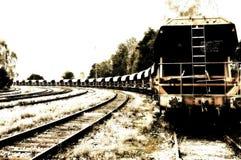 货物火车 库存照片