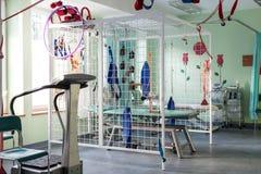 物理疗法室在医院 库存照片