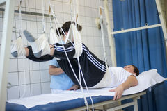 物理疗法行使健康活跃训练10 库存照片