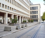 物理系,科英布拉大学  库存照片