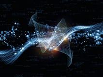 物理透视图  库存例证