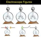 物理-马电器形状版本02 向量例证