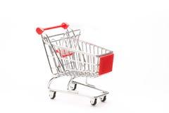 购物的小型运车 免版税库存照片