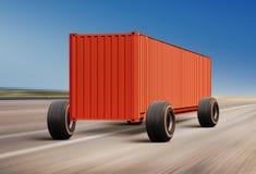 货物的运输 库存照片