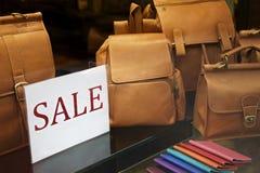 购物窗口 免版税库存图片