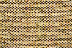 织物纹理Anemon Kombin 02地球黄色颜色 免版税图库摄影