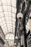 购物美术画廊在米兰,意大利 库存照片
