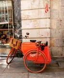 货物自行车 库存图片