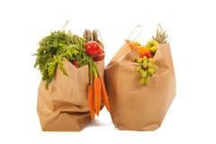 购物袋菜和果子 库存图片