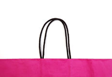 购物袋细节。 免版税库存照片