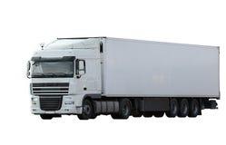 货物详细资料低部卡车 免版税图库摄影