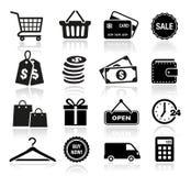 购物象 向量例证