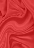 物质红色丝绸 库存图片