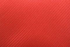 物质红色纺织品 库存照片