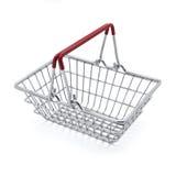 购物车查出的购物 免版税图库摄影