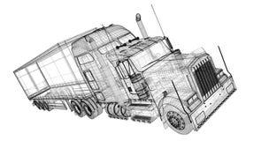 货物运载工具 图库摄影