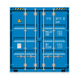 货物运输,货箱 免版税库存图片