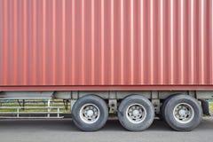 货物送货卡车 库存照片