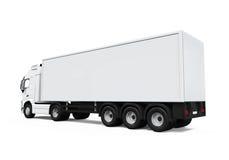 货物送货卡车 图库摄影
