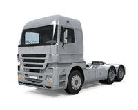 货物送货卡车 免版税库存照片