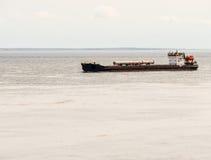 货物驳船 图库摄影