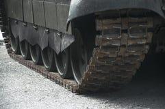 货物,汽车,卡车坦克军用武器机器大枪 免版税库存照片