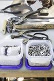 物质制造业 免版税库存照片