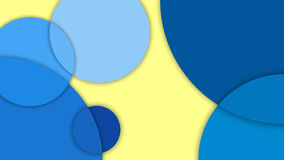 物质设计、抽象背景用不同的水准面和圈子,物质设计 库存照片