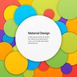物质设计背景 免版税库存照片